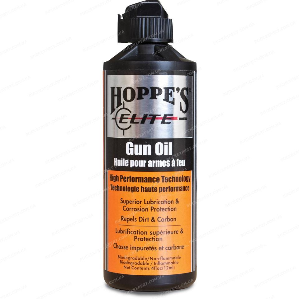 Оружейное масло Hoppe`s Elite против коррозии отталкивающее грязь и нагар масленка