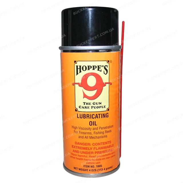 Универсальное масло Hoppe`s Lubricating Oil высокой вязкости аэрозоль