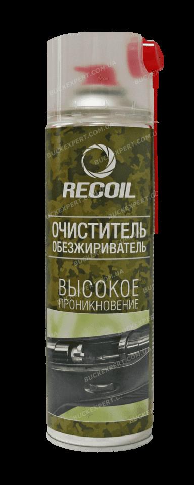 Очиститель - обезжириватель RecOil для оружия аэрозоль