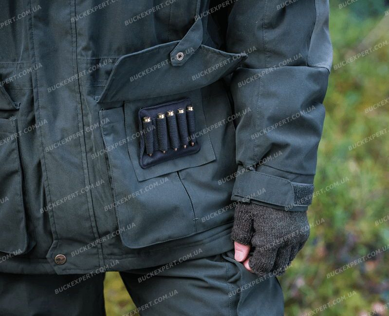 Куртка Jahti Jakt Amur с мембраной Air-Tex2 и интегрированной флисовой кофтой
