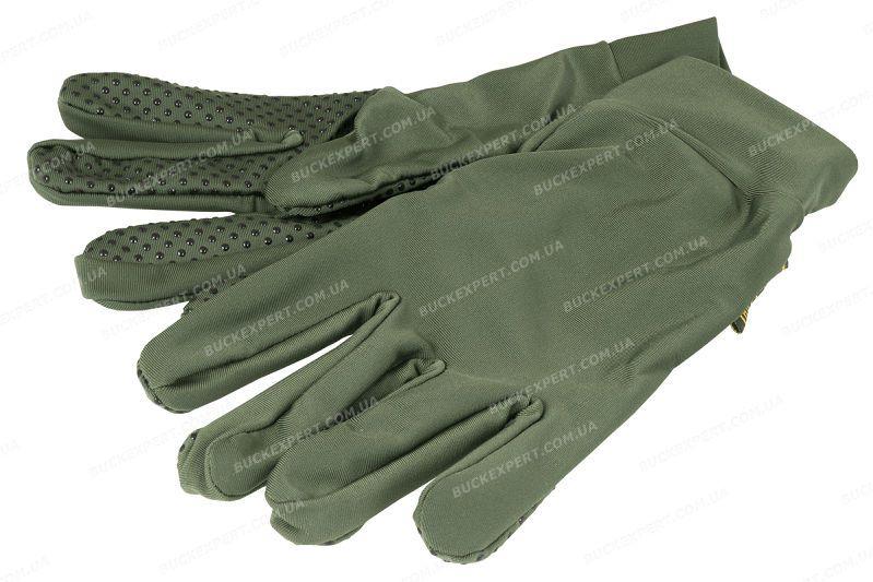 Перчатки Jahti Jakt Cooger Green тонкие зеленые
