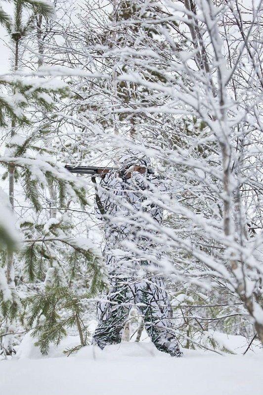 Костюм маскировочный Jahti Jakt Light Snow Camo Light