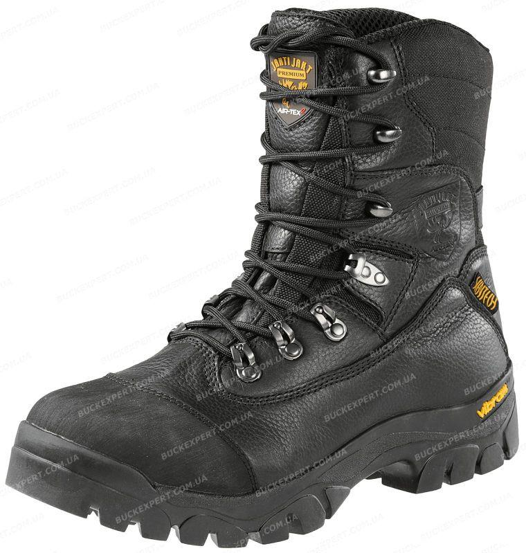 Ботинки Jahti Jakt Premium с мембраной Air-Tex и утеплителем черные