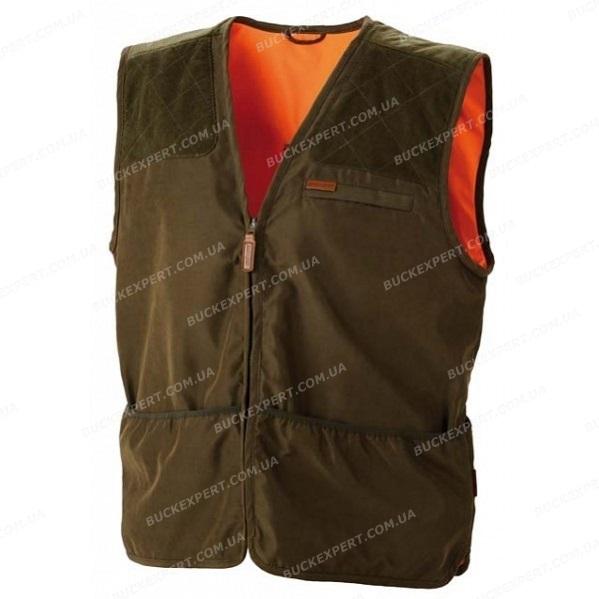 Жилет стрелковый Jahti Jakt Shooting Vest Ux Green/Orange двухсторонний
