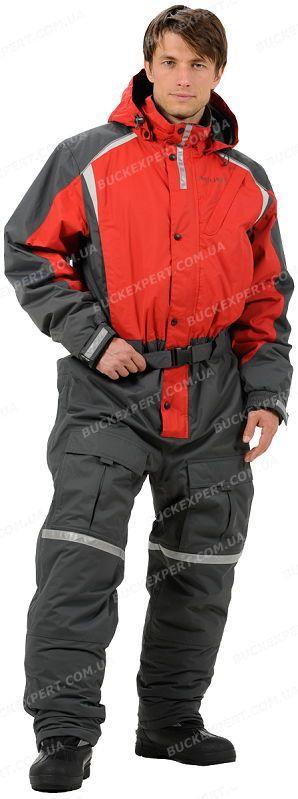 Комбинезон Jahti Jakt Ice Fishing с мембраной Air-Tex для зимней рыбалки