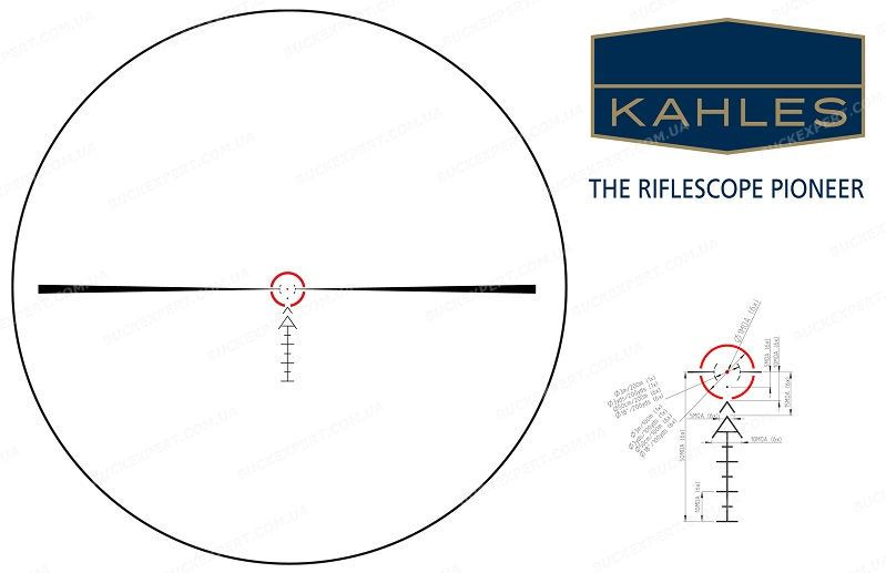 Прицел оптический Kahles K 16i 1-6x24 Abs. SI1