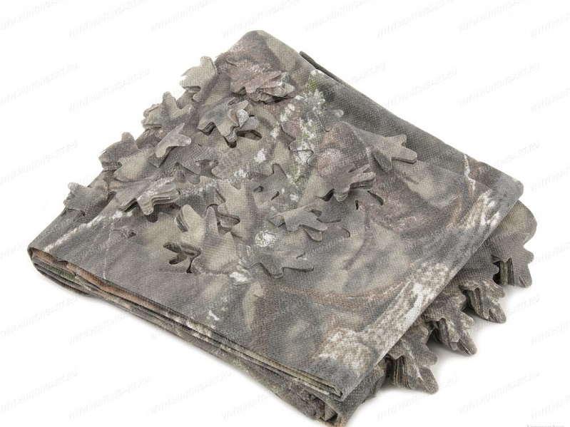 Камуфляжная ткань Allen для создания засидки обьемная 3D различных цветов
