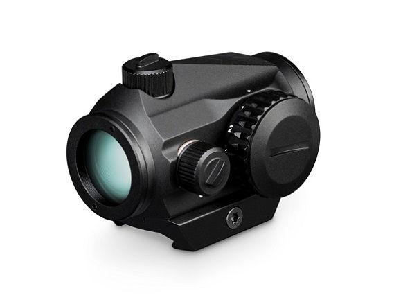 Коллиматорный прицел Vortex Crossfire Red Dot с точкой 2 MOA с низкой и высокой базой в комплекте