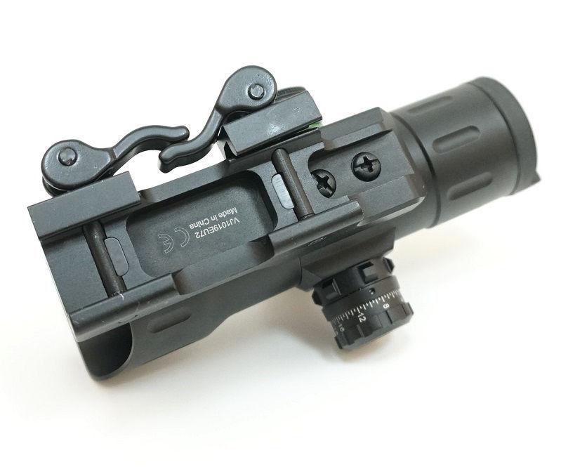 Прицел Leapers UTG 1х38 коллиматорный с двухцветной маркой T-dot на Weaver быстросъемный