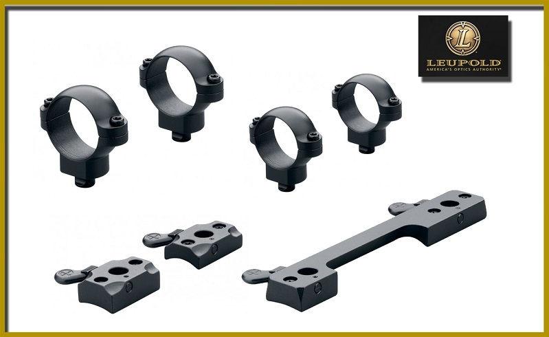 Кольца Leupold QR 26 мм сверхнизкие матовые на базы Leupold