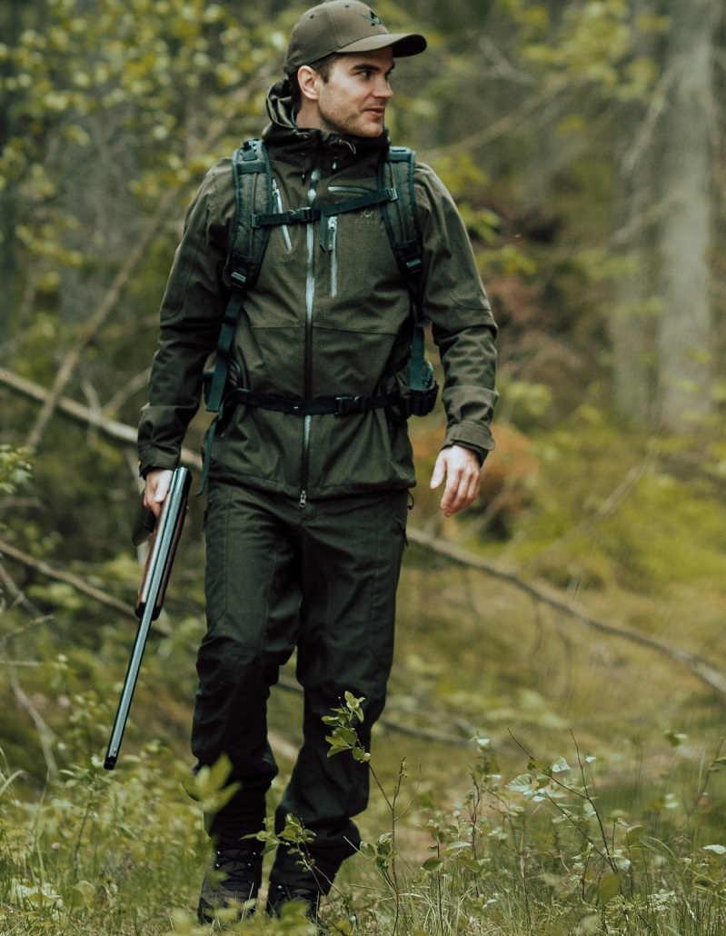 Костюм Alaska Extreme Lite III Forest Green с мембраной Rain Stop 10000 / 8000 всесезонный