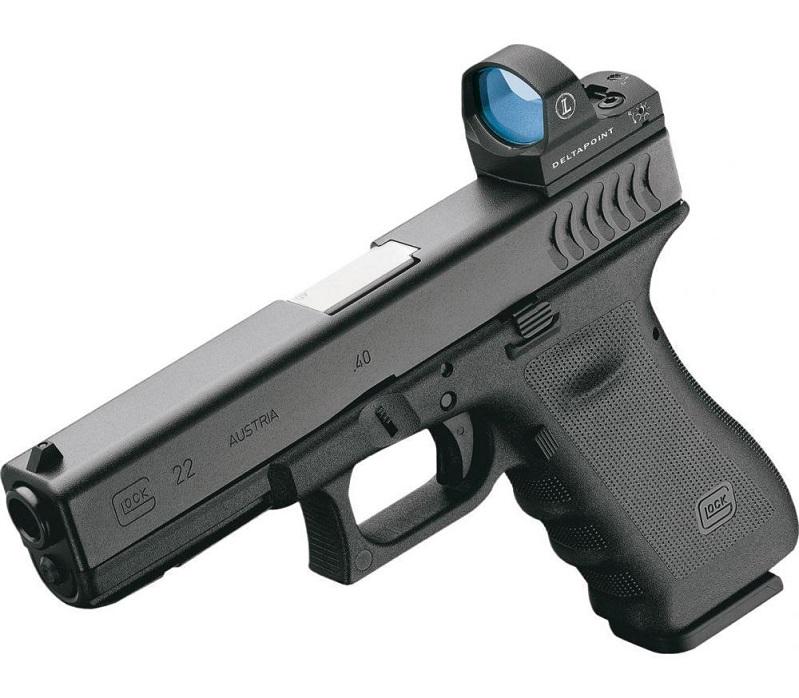 Крепление Leupold на пистолет Glock для коллиматора Leupold DeltaPoint Pro