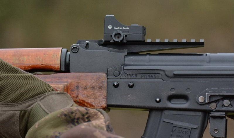 Кронштейн AKademia - Вайпер с Weaver для оружия АК-типа на место прицельной планки (целика)