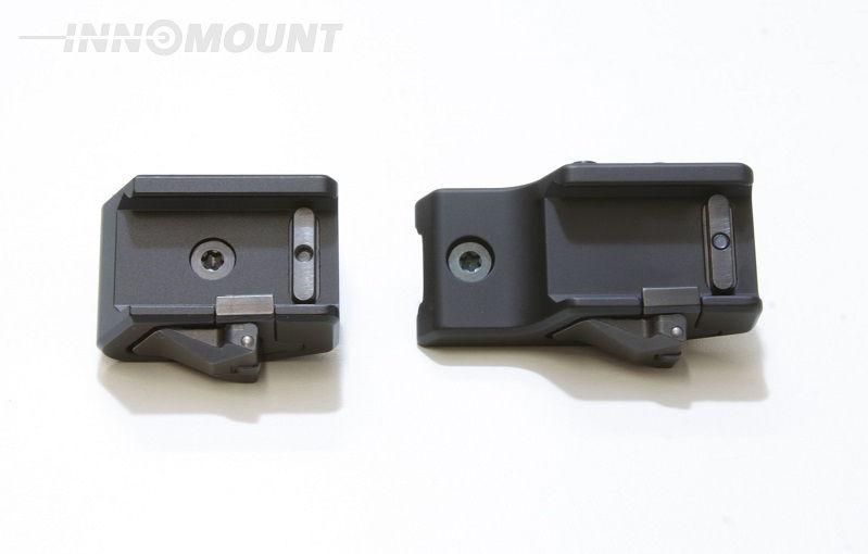 Кронштейн Innomount с шиной Swarovski на Picatinny с выносом 25 мм на раздельных основаниях