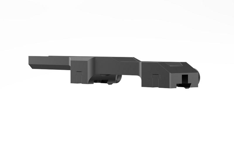 Кронштейн Yukon на ласточкин хвост для карабинов Лось / Барс к прицелам Pulsar Digisight / Apex легкосьемный