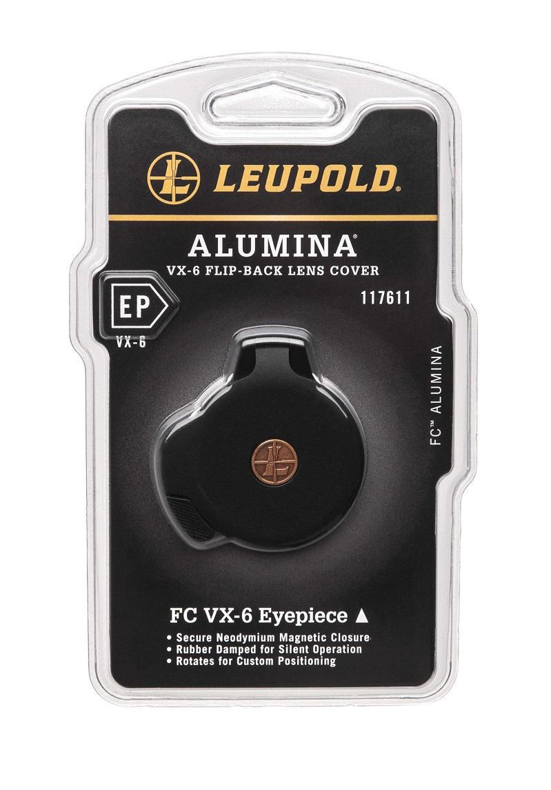 Крышка Leupold Alumina Flip Back на окуляр прицелов серии VX-6 / VX-6HD / VX-5HD / MARK 5HD откидная
