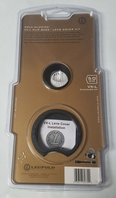 Набор крышек Leupold Alumina Flip Back для прицелов серий VX-L / VX-3L с диаметром объектива 50 мм