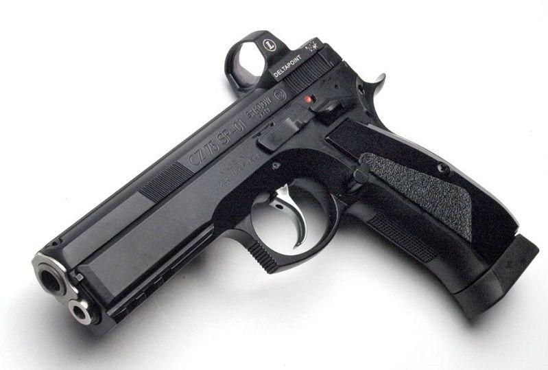 Крепление Leupold на пистолет CZ 75 для коллиматора Leupold DeltaPoint Pro