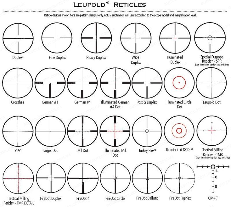 Оптический прицел Leupold VX-6 1-6X24 CDS FireDot Circle с подсветкой
