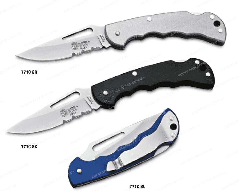 Нож LionSteel серии Work лезвие 85 мм рукоять - алюминий крепление на ремень