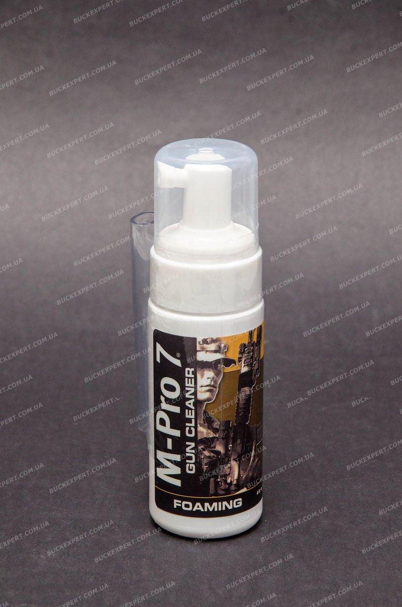 Чистящая пена M-Pro 7 для удаления освинцовки порохового нагара и омеднения