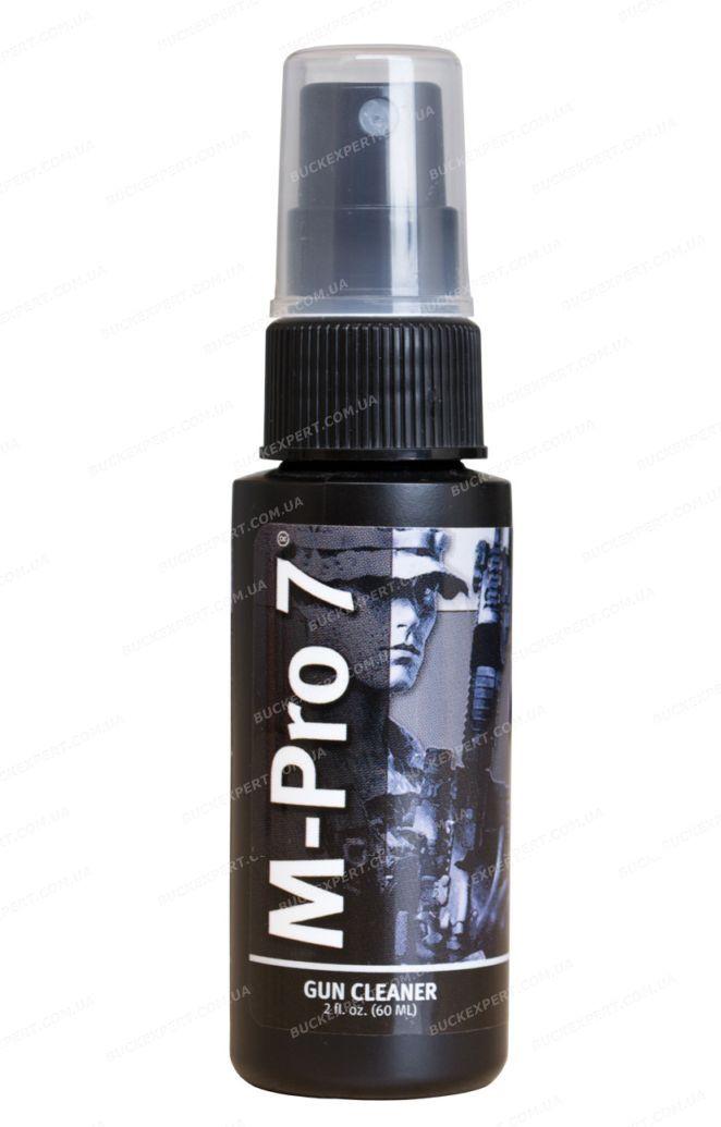 Средство M-Pro 7 Gun Cleaner для удаления освинцовки порохового нагара и омеднения спрей