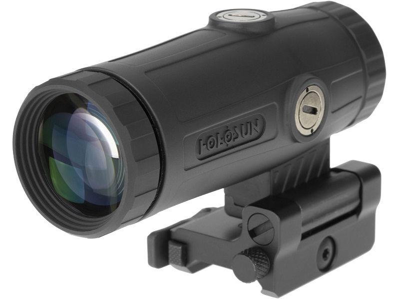Увеличитель Holosun Magnifier 3X совместимый с EOTech и Aimpoint откидной
