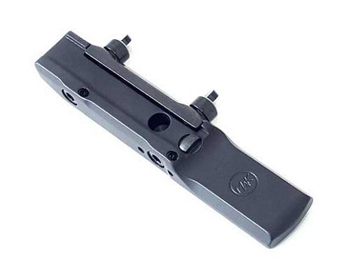 Кронштейн МАК для коллиматора Docter / Burris / Meosight / Trijicon / Vortex на призму 10 - 12 мм быстросьемный
