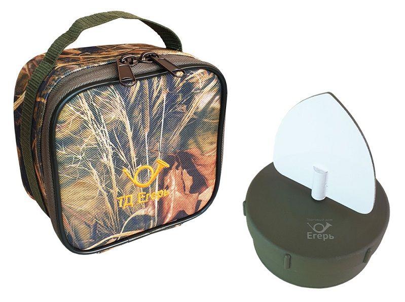Махокрыл Егерь (аналог приманки Mojo Flock a Fliker) с сумкой в комплекте