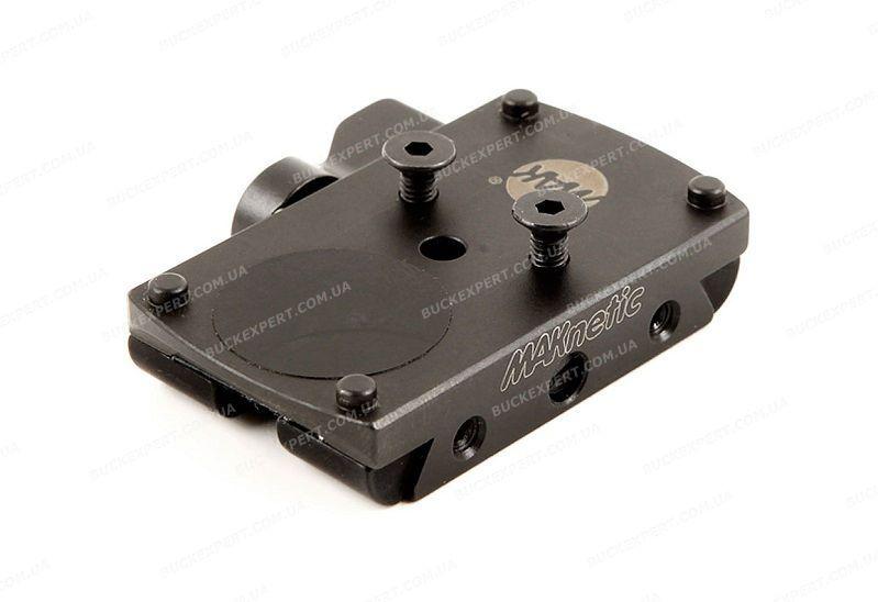 Адаптер MAKnetic для Docter / Burris / Meosight / Zeiss / Trijicon на прицельные планки шириной 12 мм