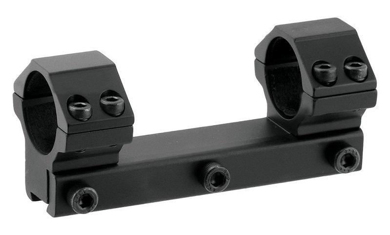 Моноблок Leapers AccuShot на ласточкин хвост со средними кольцами 30 мм для пневматики