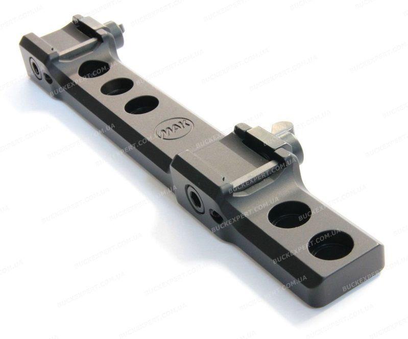 Кронштейн MAKuick на Sauer 303 для верхов и адаптеров под прицелы Pulsar / Yukon / Phantom / COT / Dedal