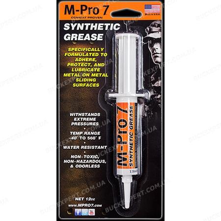 Синтетическая смазка M-Pro7  для оружия шприц