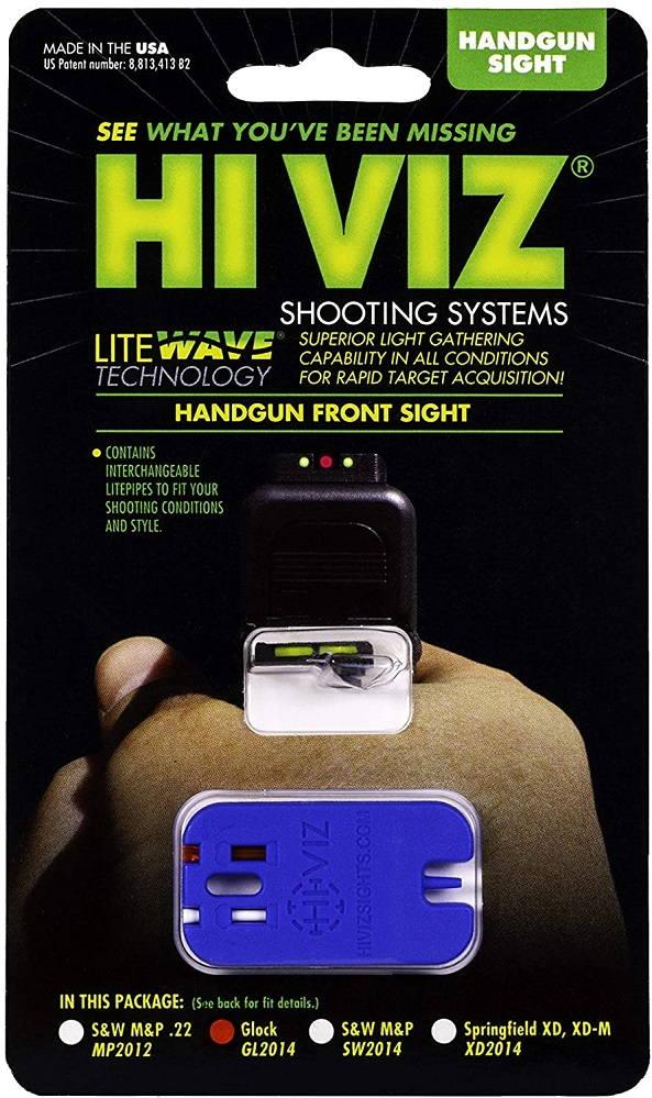 Мушка HiViz для Glock пистолетная оптоволоконная