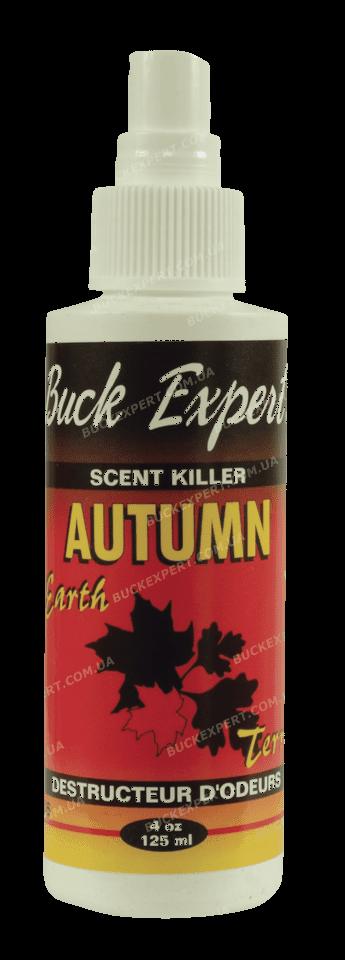 Нейтрализатор запаха человека Buck Expert с запахом прелой листвы спрей 125 мл