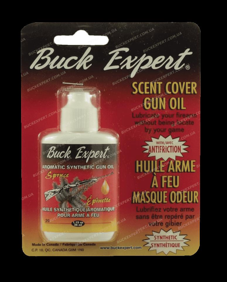 Маскировщик запаха оружия Buck Expert масло оружейное с тефлоном