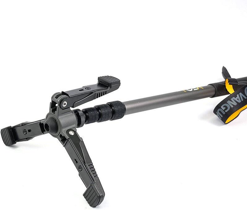 Опора - трость Vanguard VEO 2 с трехстоечным основанием наклонная высотой от 62 см до 163 см