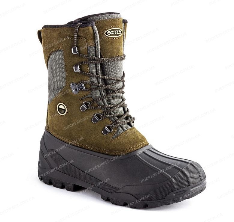 Ботинки Orizo Bormio Green с теплоизоляцией зимние