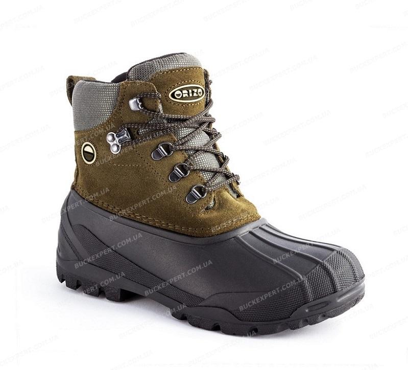 Ботинки Orizo Misurina Green с теплоизоляцией зимние