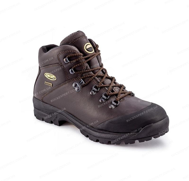 Ботинки Orizo Vajolet  Dark Brown с мембраной демисезонные