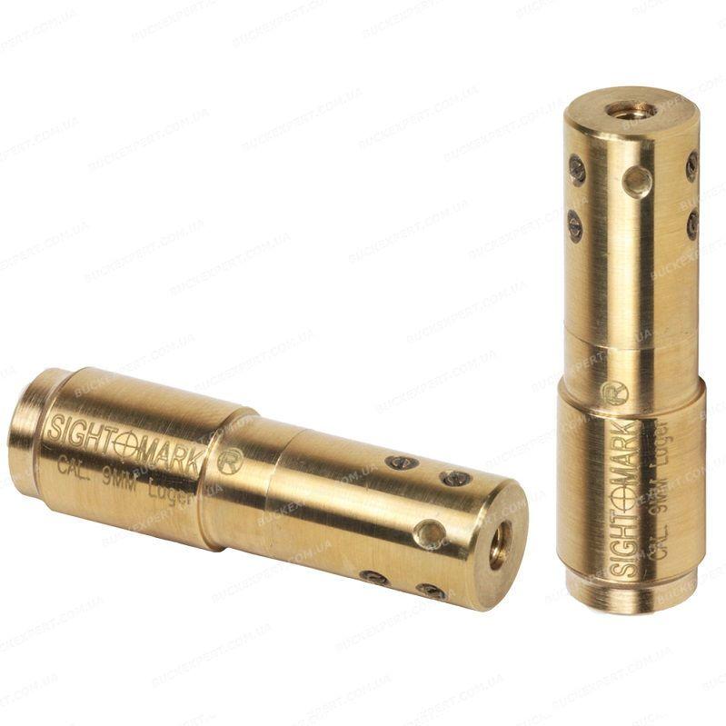 Лазерный патрон Sightmark для холодной пристрелки оружия калибра 9mm Luger