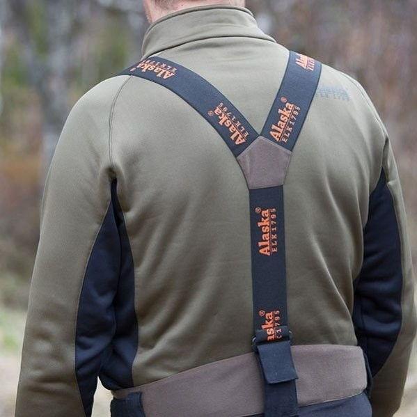 Подтяжки Alaska эластичные регулируемые для брюк Alaska