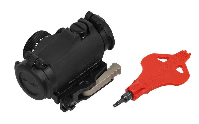 Коллиматорный прицел Aimpoint Micro T-2 с режимами для ПНВ быстросъмный