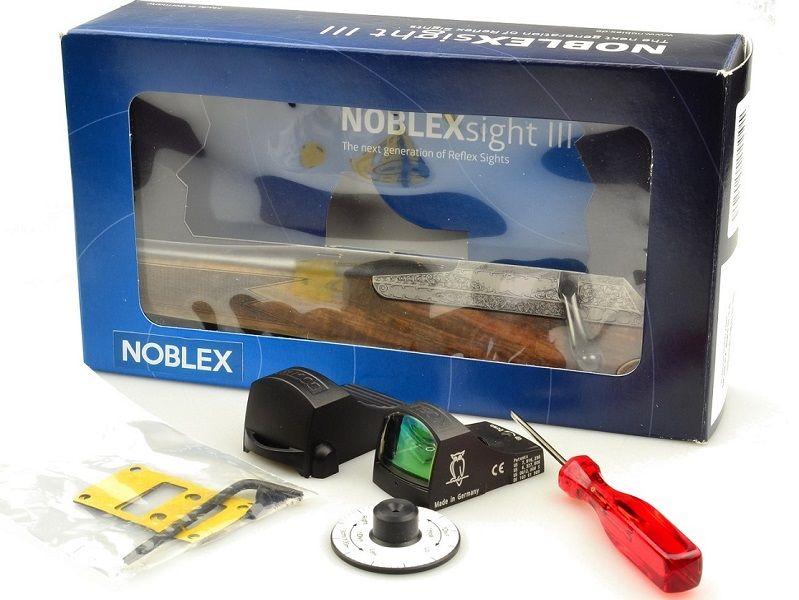 Прицел Docter Noblex Sight III с авто- и ручной яркостью и кронштейном на ласточкин хвост коллиматорный
