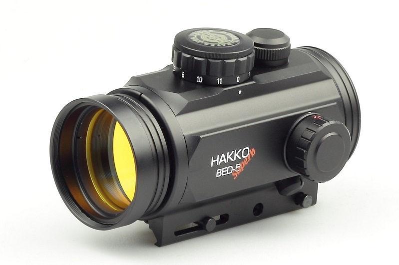 Коллиматорный прицел Hakko BED-5 MR-02 с мульти сеткой на Weaver