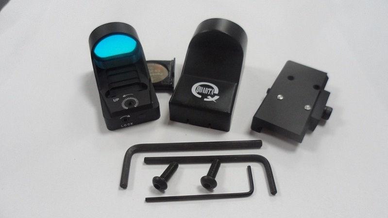 Коллиматорный прицел Hakko mini с маркой точка 4 МОА на Wеаvеr автоматическая и ручная подсветка