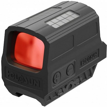 Коллиматор Holosun Enclosed с солнечной батареей марка сменная красная в алюминиевом корпусе