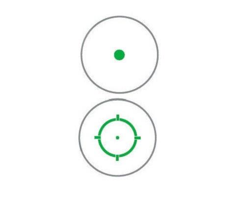 Прицел Holosun Tube Elite с зеленой сменной маркой + откидные крышки в титановом корпусе быстросьемный
