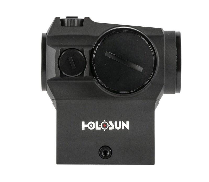 Коллиматорный прицел Holosun Micro HS403R с батареей сбоку + кронштейн для AR-15+ U-защита