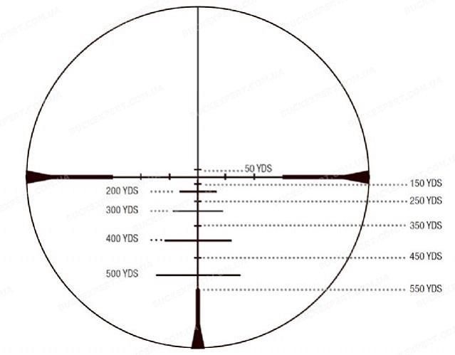Оптический прицел Konus Konuspro Impact 3-9x40 сетка 550 Ballistic с подсветкой
